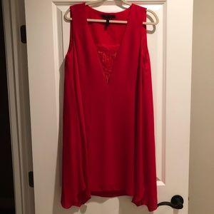 BCBG MaxAzria Red Shift Dress